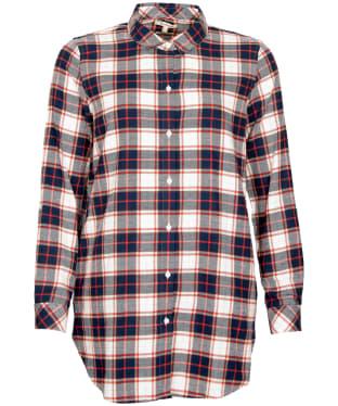 Women's Barbour Windbound Shirt - Cloud Check