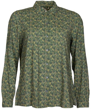 Women's Barbour Hindscarth Shirt - Sage Print