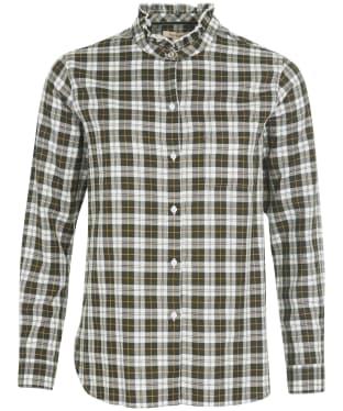 Women's Barbour Stanton Shirt - Cloud Check