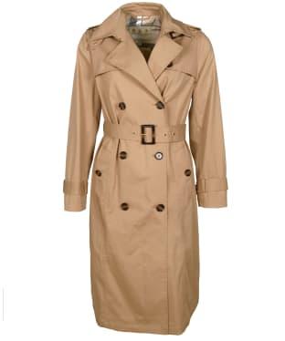 Women's Barbour Flodden Showerproof Jacket - Hessian