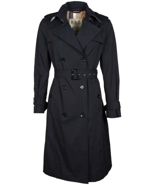 Women's Barbour Flodden Showerproof Jacket - Black