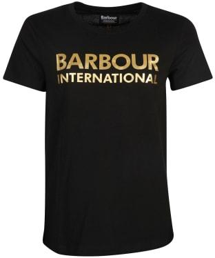 Women's Barbour International Galvez Tee - Black