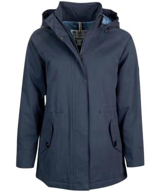 Women's Barbour Collywell Waterproof Jacket - Navy
