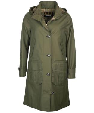 Women's Barbour Hindscarth Waterproof Jacket - Olive