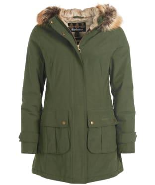 Women's Barbour Hebden Waterproof Jacket - Olive