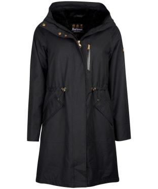Women's Barbour International Rueka Waterproof Jacket - Black