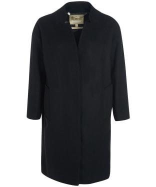 Women's Barbour Talbert Wool Coat - Black