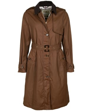 Women's Barbour Pastoral Waxed Jacket - Bark