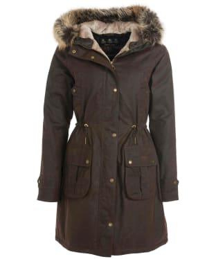 Women's Barbour Hartwith Wax Jacket - Rustic