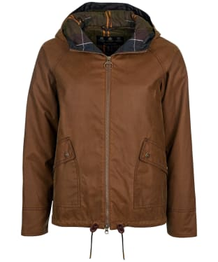 Women's Barbour Windemere Waxed Jacket - Tan