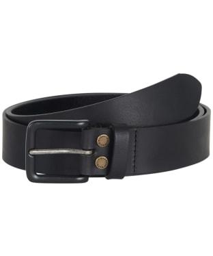 Men's Barbour Double Rivet Belt - Black