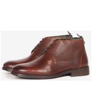 Men's Barbour Benwell Chukka Boot - Chestnut Grain