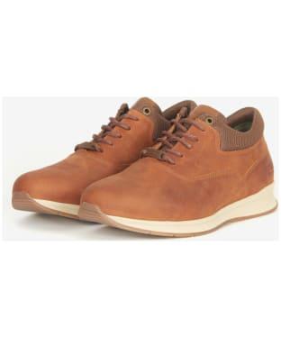 Men's Barbour Langley Oxford Shoes - Cognac