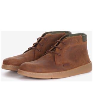 Men's Barbour Numbat Chukka Boots - Cognac