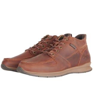 Men's Barbour Whymark Ankle Boots - Cognac