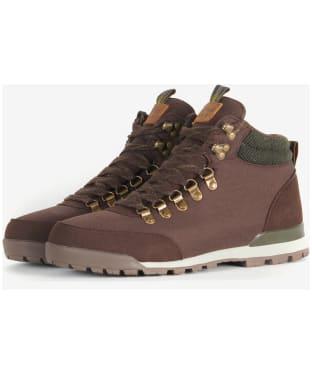 Men's Barbour Heddon Hiking Boots - Dark Brown