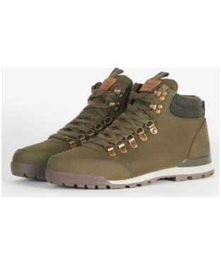 Men's Barbour Heddon Hiking Boots - Olive