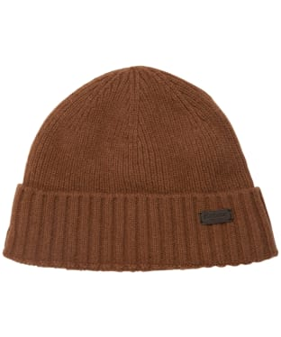 Men's Barbour Carlton Beanie Hat - Ochre