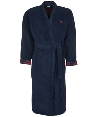 Men's Barbour Lachlan Dressing Gown - Navy