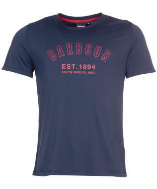 Men's Barbour Calvert Tee - Navy