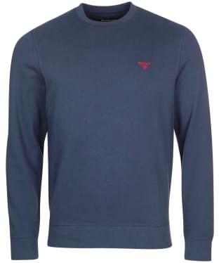 Men's Barbour Nico Lounge Crew Sweater - Navy