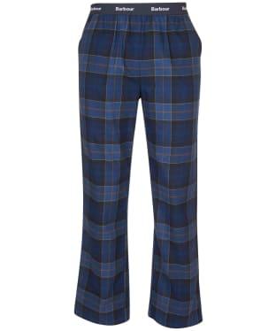 Men's Barbour Glenn Tartan Trousers - Midnight Tartan