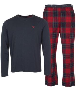 Men's Barbour Doug PJ Set - Red Tartan