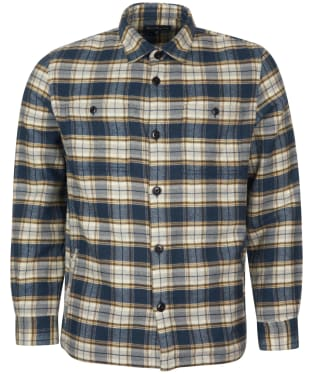 Men's Barbour Seatown Overshirt - Navy Check