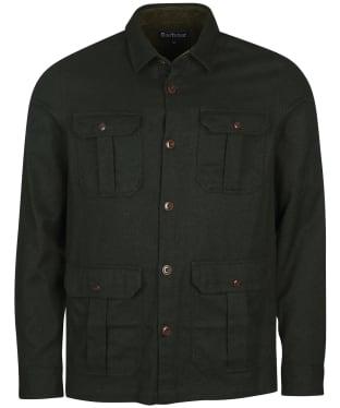 Men's Barbour Ocean Overshirt - Rifle Green