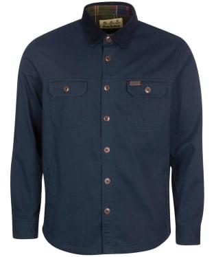 Men's Barbour Catbell Overshirt - Navy