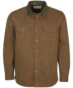 Men's Barbour Catbell Overshirt - Dark Olive