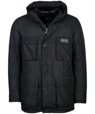 Men's Barbour International Transmission Arden Quilted Jacket - Black