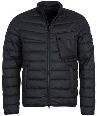 Men's Barbour International Winter Chain Quilted Jacket - Black