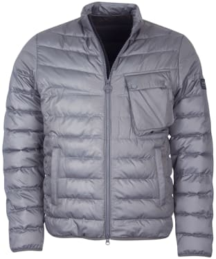 Men's Barbour International Winter Chain Quilted Jacket - Slate