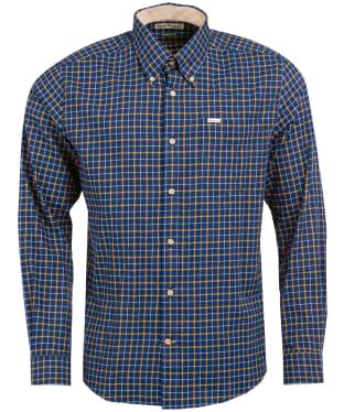 Men's Barbour Bank Check Shirt - NAVY CHECK 2