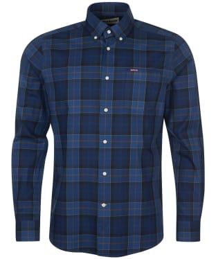 Men's Barbour Wetherham Tailored Shirt - Midnight Tartan