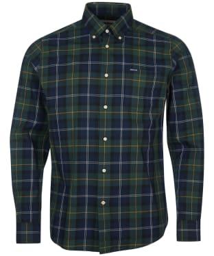 Men's Barbour Wetherham Tailored Shirt - Seawood Tartan