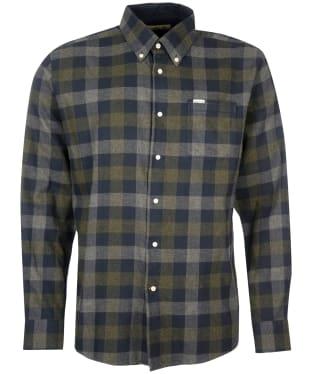 Men's Barbour Westoe Regular Fit Shirt - Navy