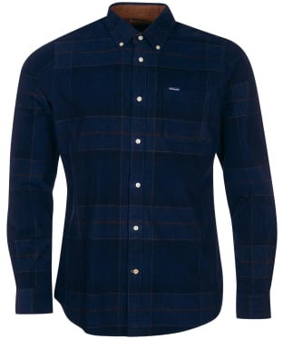 Men's Barbour Blair Tailored Shirt - Midnight Tartan