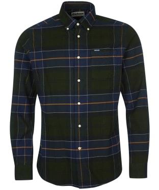 Men's Barbour Lutsleigh Shirt - Forest Check