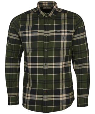 Men's Barbour Bidston Shirt - Rifle Green Check