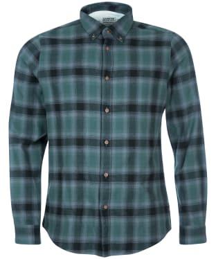 Men's Barbour International Steve McQueen Joshua Shirt - Deep Green Check