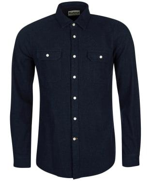 Men's Barbour Bicklow Shirt - Dark Navy