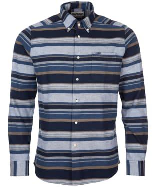 Men's Barbour Cornhill Tailored Shirt - Midnight Navy