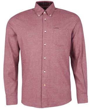 Men's Barbour Priestcliffe Tailored Shirt - Merlot