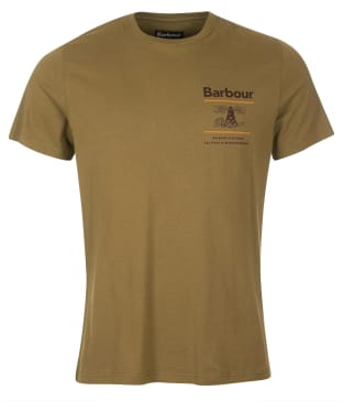Men's Barbour Reed Tee - Mid Olive