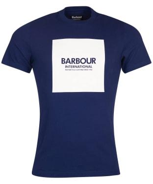 Men's Barbour International Block Tee - Regal Blue