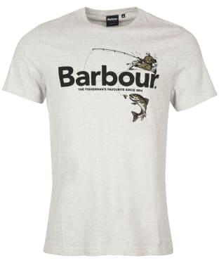 Men's Barbour Outdoors Graphic Tee - Grey Marl