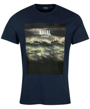 Men's Barbour Tidal Graphic Tee - Navy