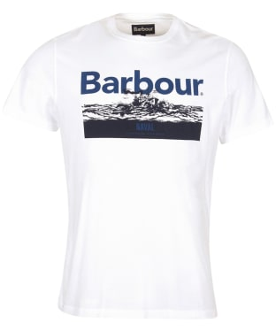 Men's Barbour Isle Graphic Tee - White